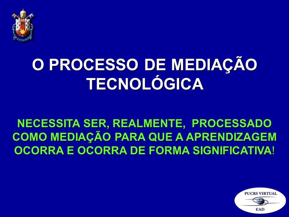 O PROCESSO DE MEDIAÇÃO TECNOLÓGICA