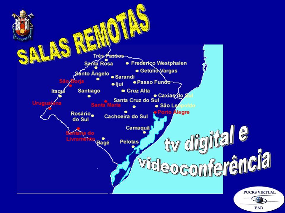 SALAS REMOTAS tv digital e videoconferência