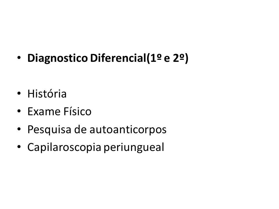 Diagnostico Diferencial(1º e 2º)