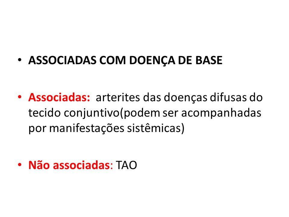 ASSOCIADAS COM DOENÇA DE BASE