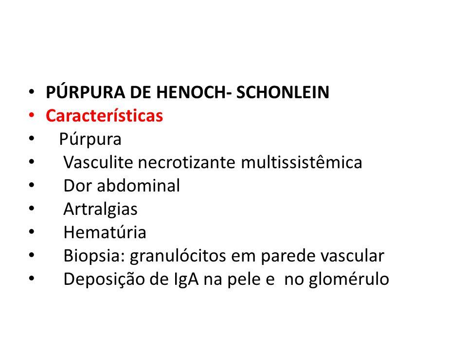 PÚRPURA DE HENOCH- SCHONLEIN