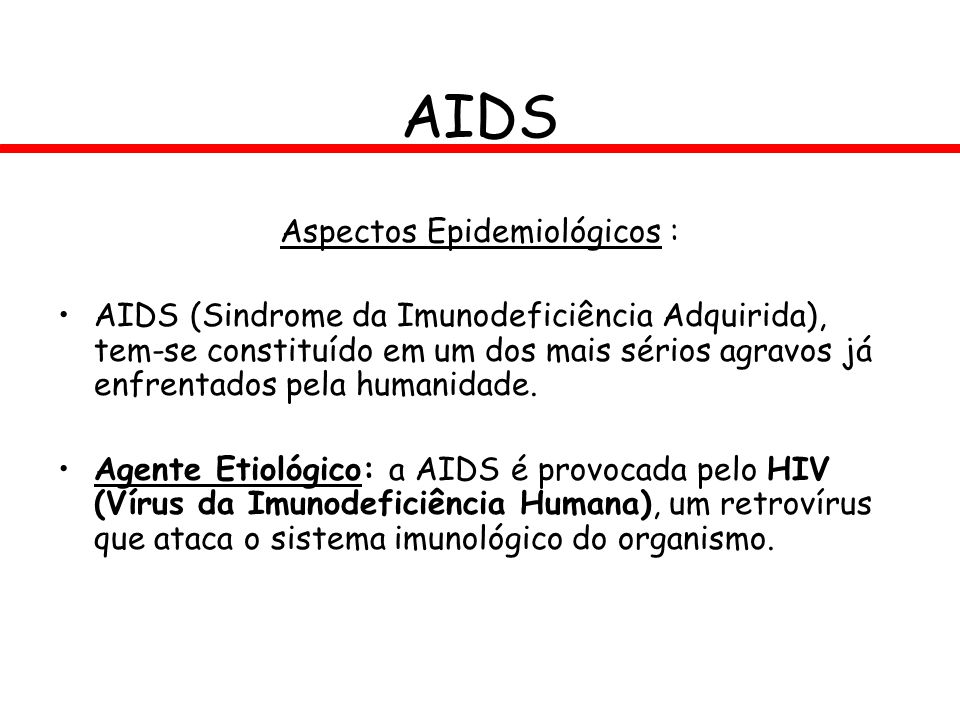 Aspectos Epidemiológicos :