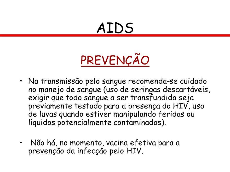 AIDS PREVENÇÃO.