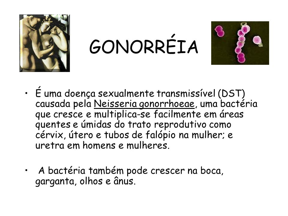 GONORRÉIA