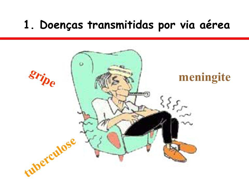 1. Doenças transmitidas por via aérea