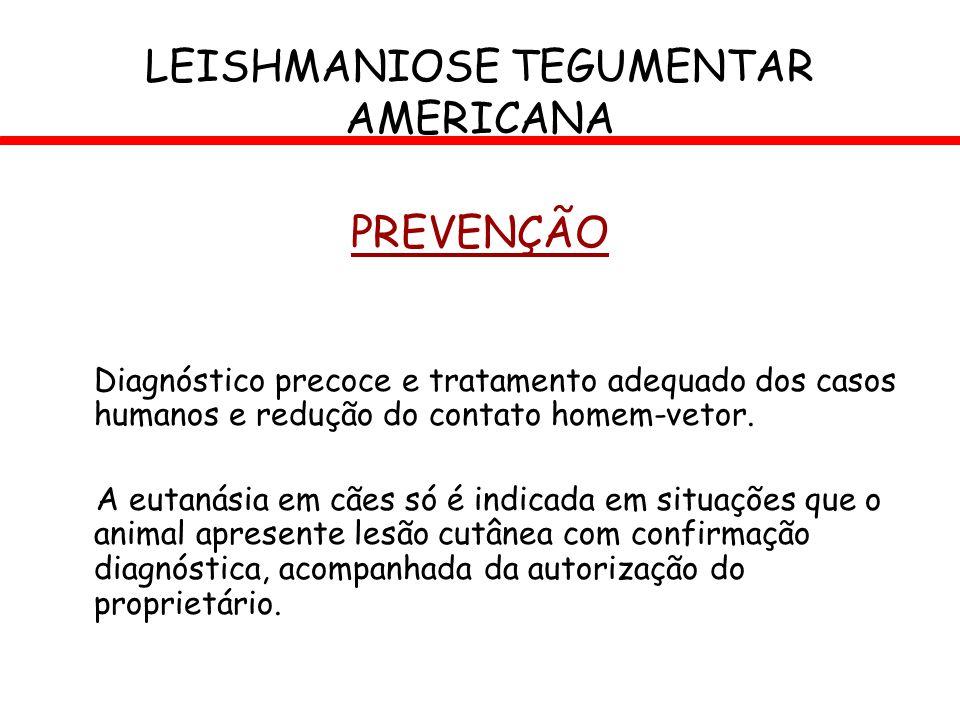 LEISHMANIOSE TEGUMENTAR AMERICANA