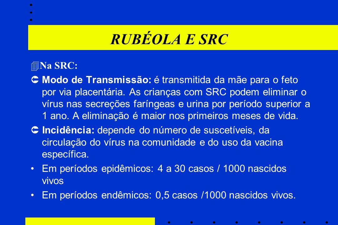 RUBÉOLA E SRC Na SRC: