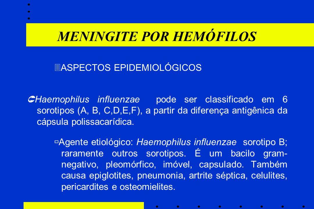 MENINGITE POR HEMÓFILOS