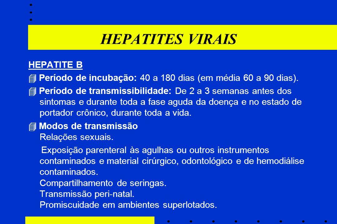 HEPATITES VIRAIS HEPATITE B