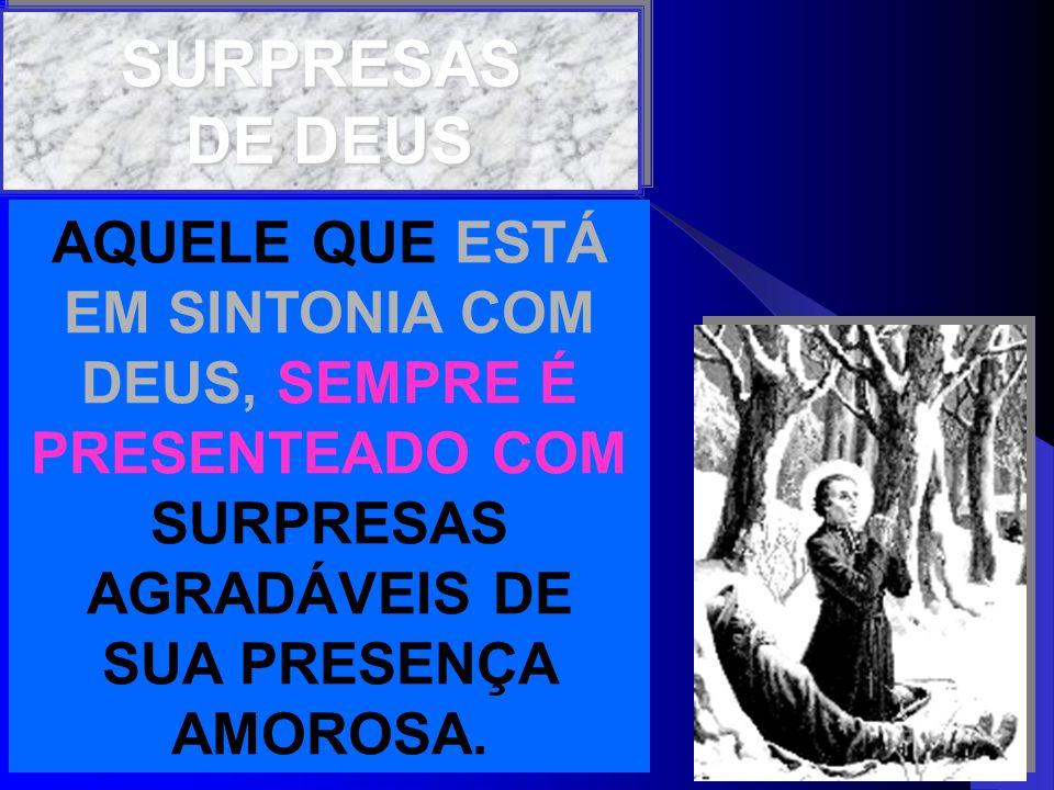 SURPRESAS DE DEUS.
