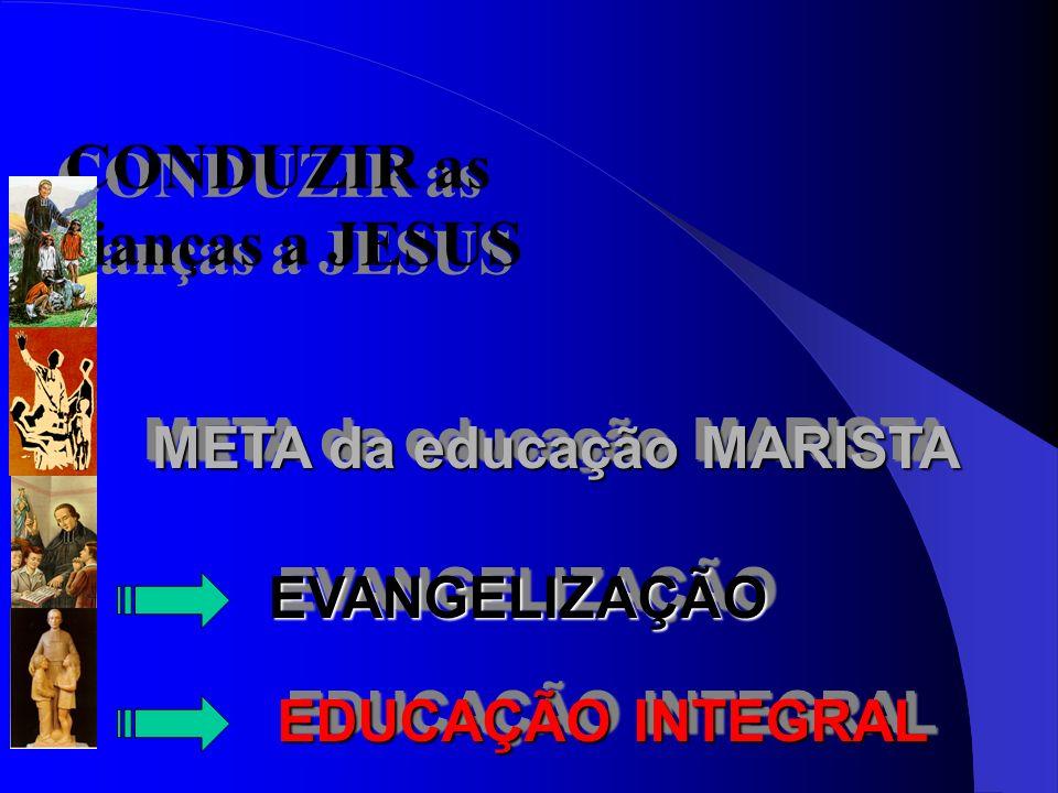CONDUZIR as crianças a JESUS