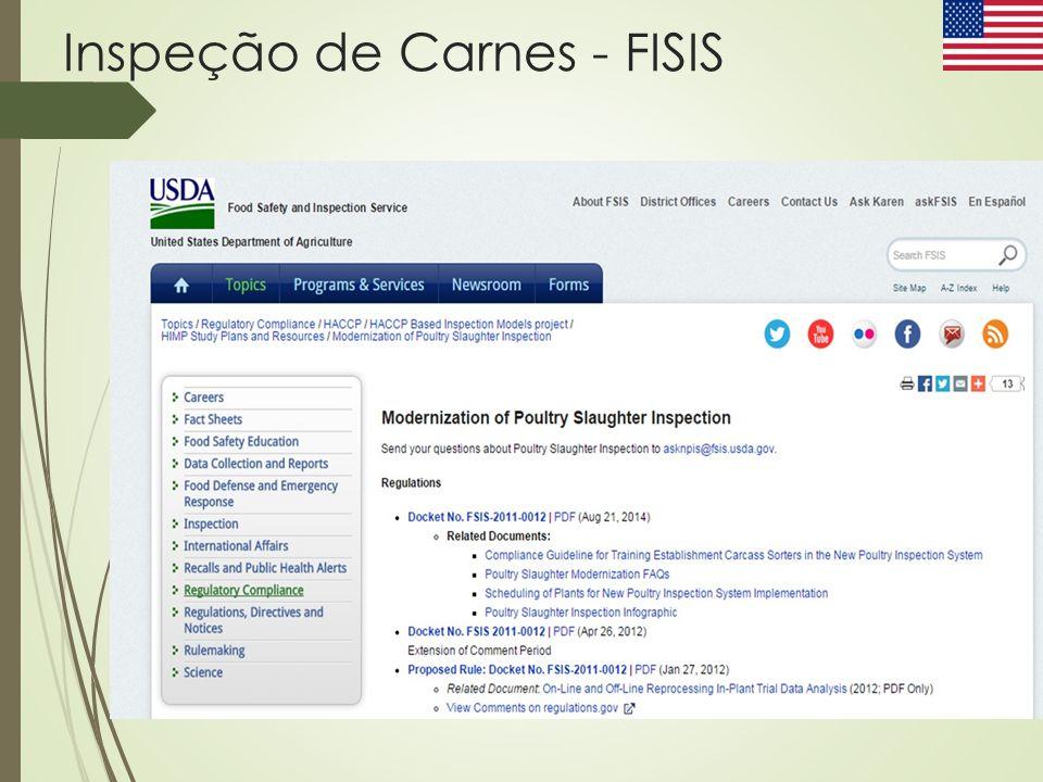 Inspeção de Carnes - FISIS