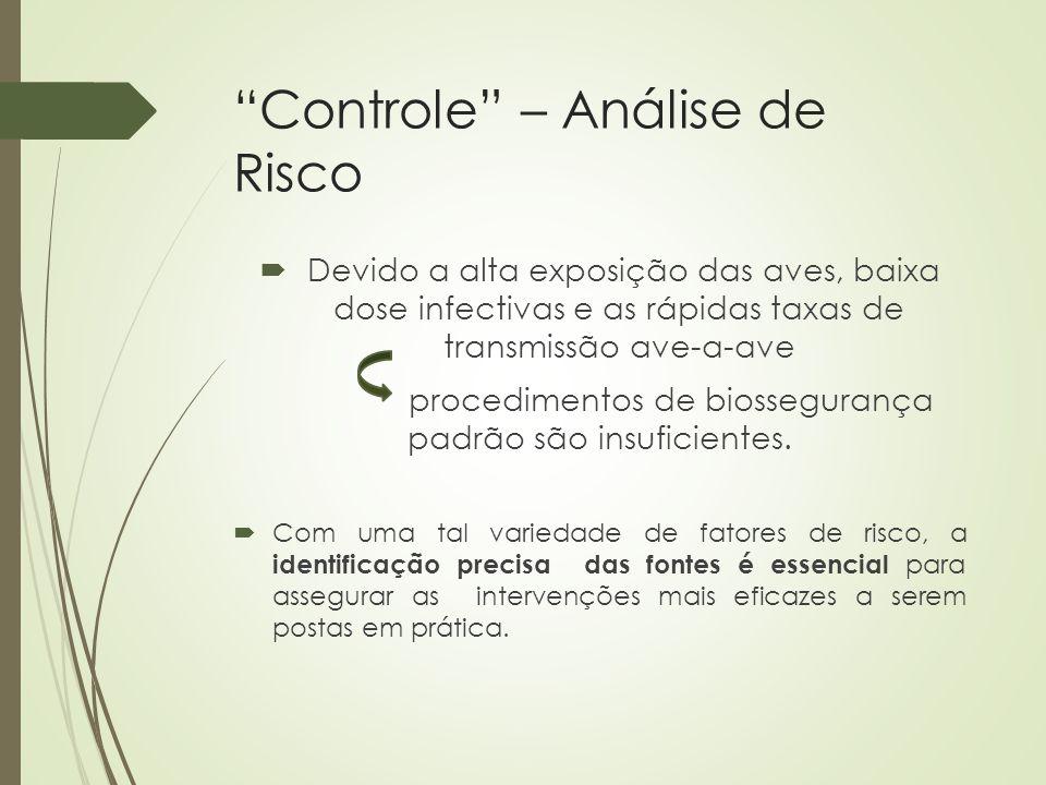 Controle – Análise de Risco