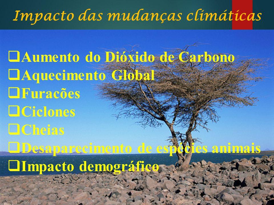 Impacto das mudanças climáticas