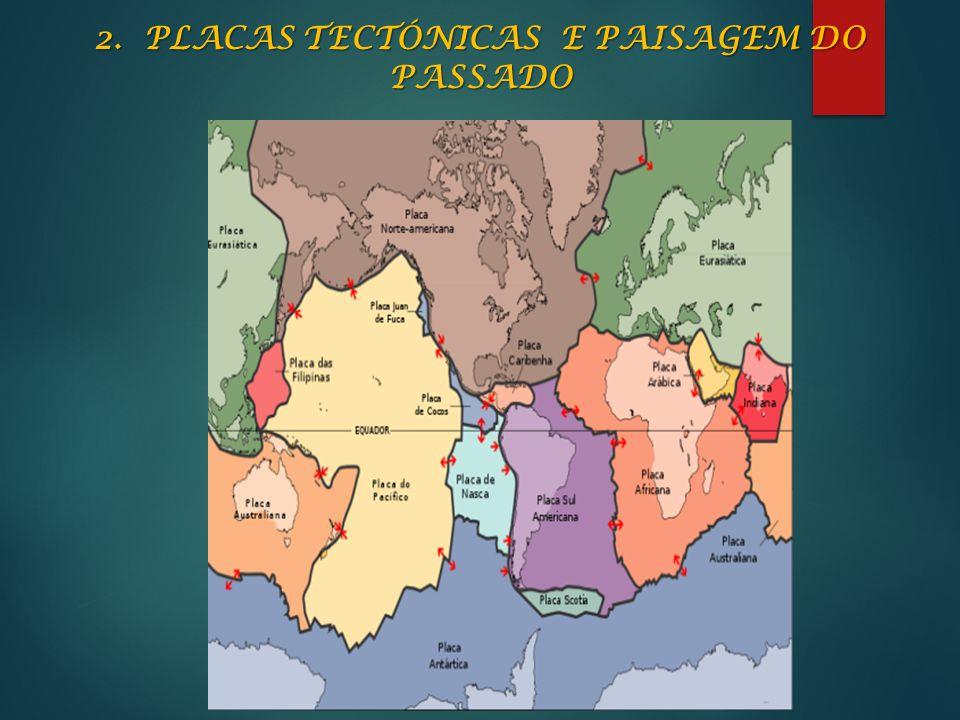 2. PLACAS TECTÓNICAS E PAISAGEM DO PASSADO