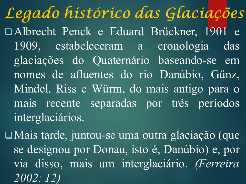 Legado histórico das Glaciações