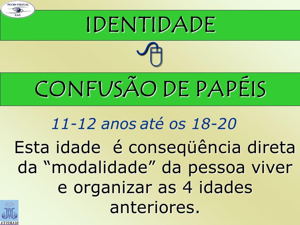  IDENTIDADE CONFUSÃO DE PAPÉIS