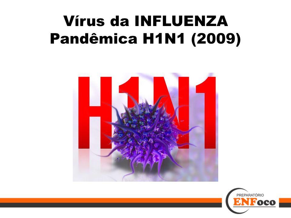 Vírus da INFLUENZA Pandêmica H1N1 (2009)
