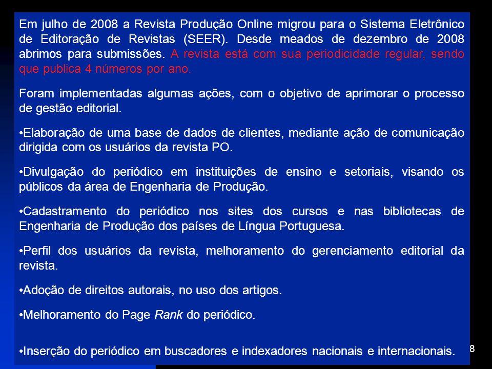 Adoção de direitos autorais, no uso dos artigos.