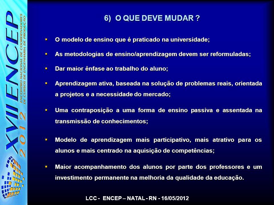 LCC - ENCEP – NATAL - RN - 16/05/2012