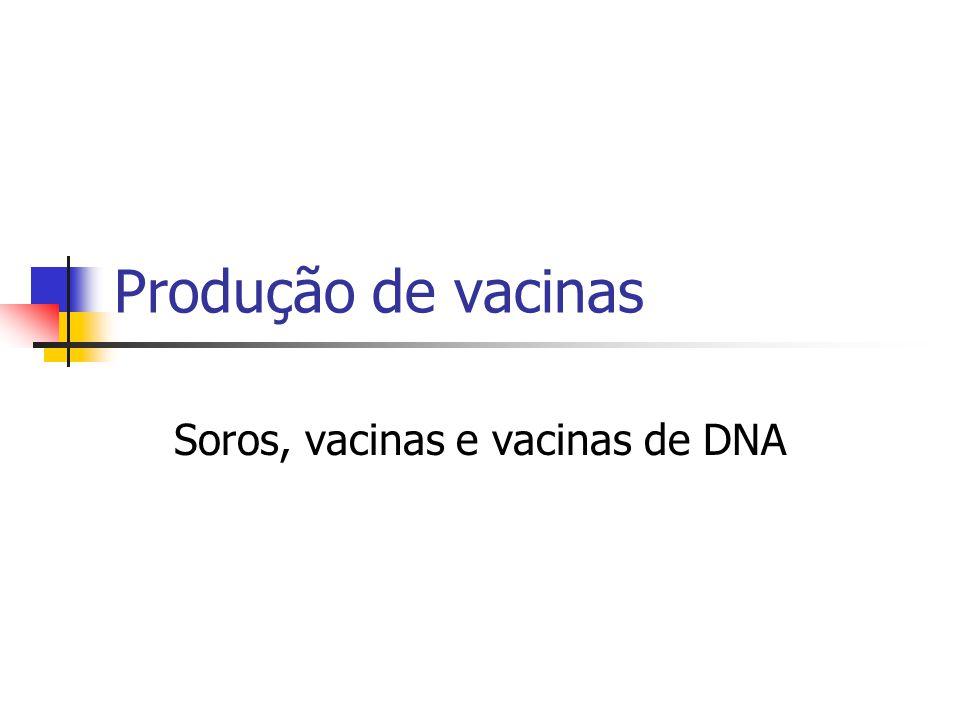 Soros, vacinas e vacinas de DNA