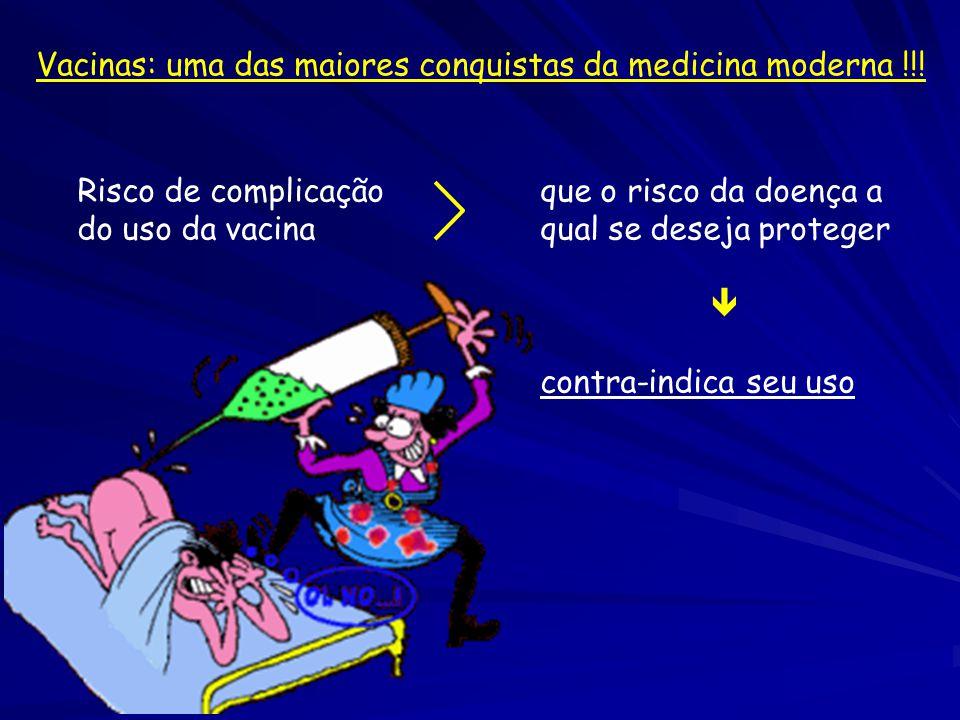 Vacinas: uma das maiores conquistas da medicina moderna !!!