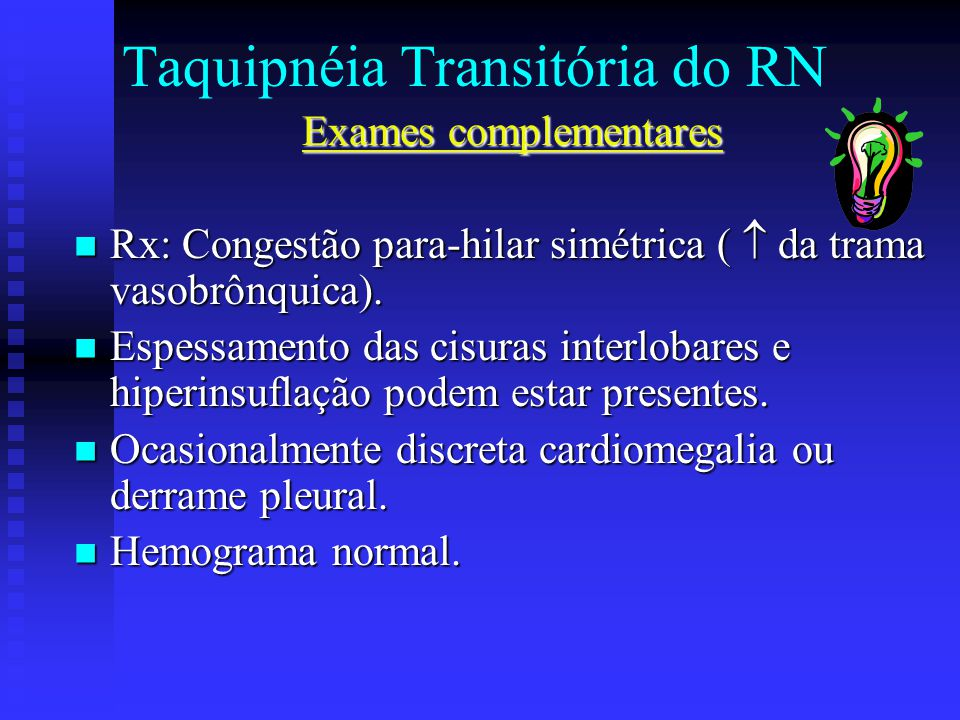 Taquipnéia Transitória do RN