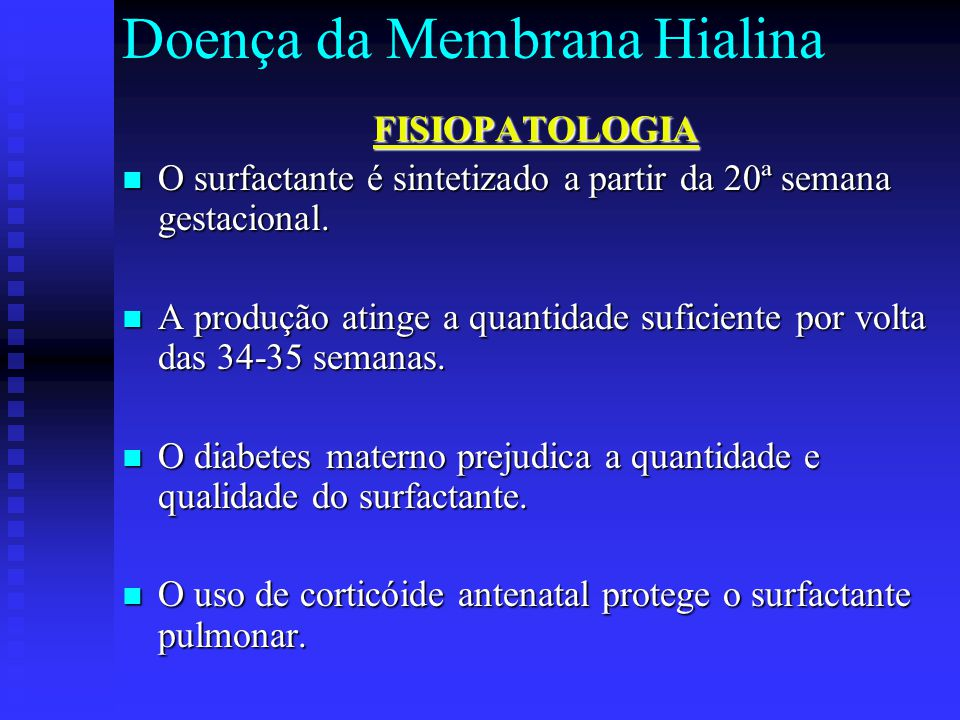 Doença da Membrana Hialina