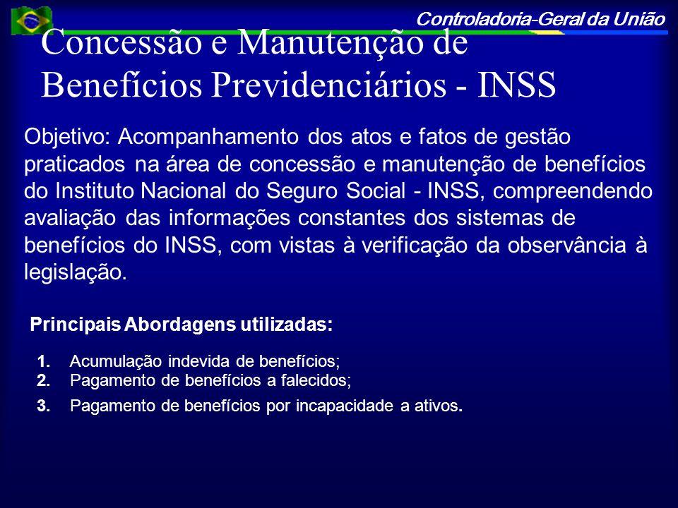 Concessão e Manutenção de Benefícios Previdenciários - INSS
