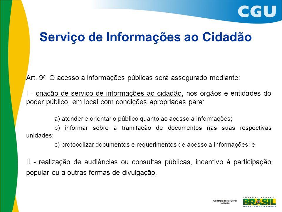 Serviço de Informações ao Cidadão