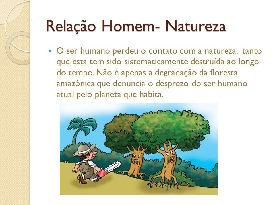 Relação Homem- Natureza