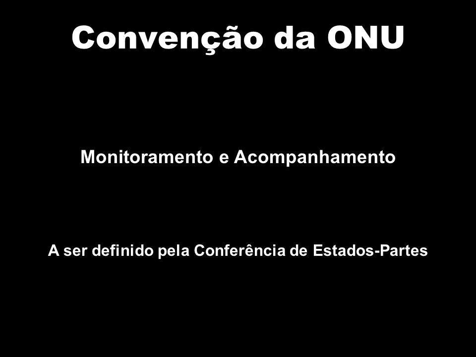 Convenção da ONU Monitoramento e Acompanhamento