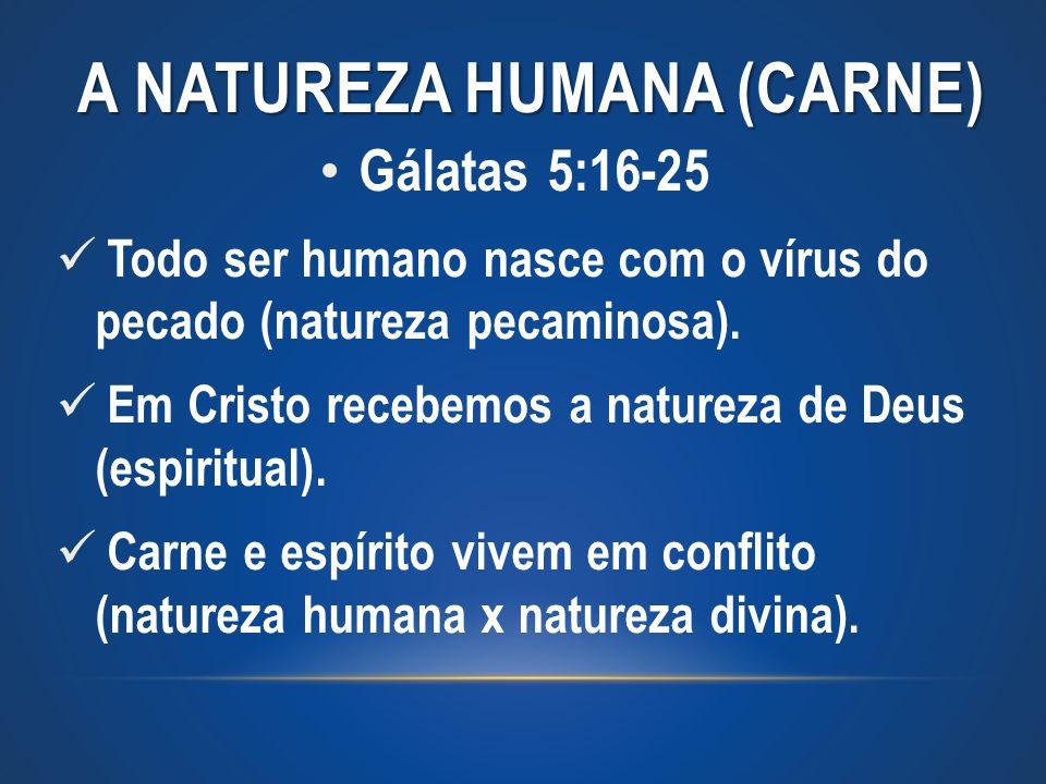 A NATUREZA HUMANA (carne)