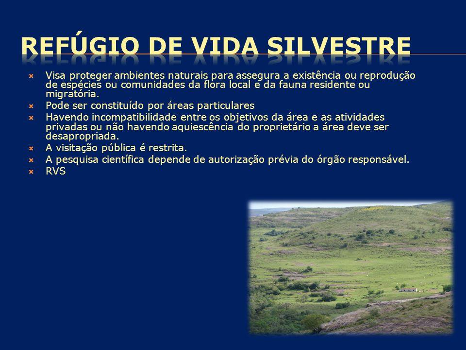 REFÚGIO DE VIDA SILVESTRE