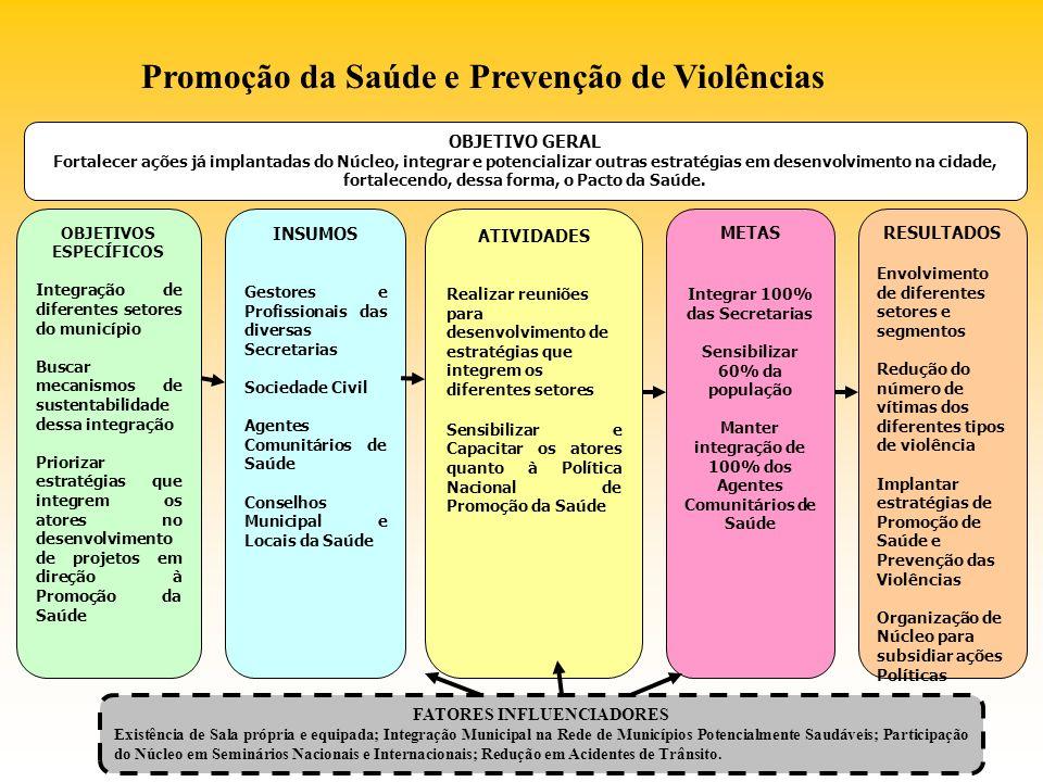 Promoção da Saúde e Prevenção de Violências
