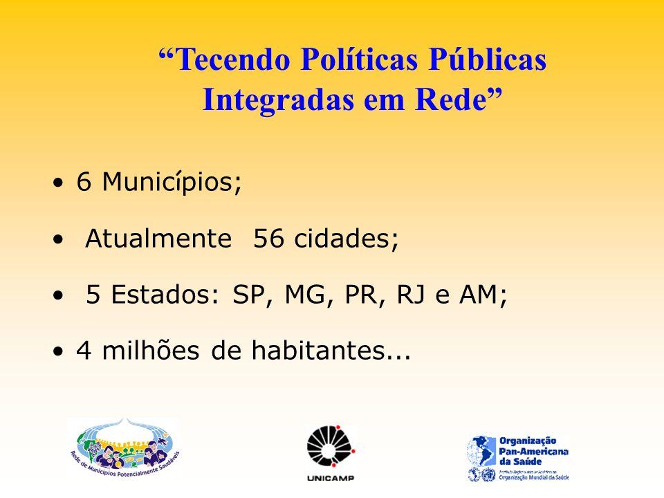 Tecendo Políticas Públicas Integradas em Rede