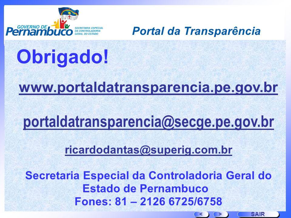Secretaria Especial da Controladoria Geral do Estado de Pernambuco