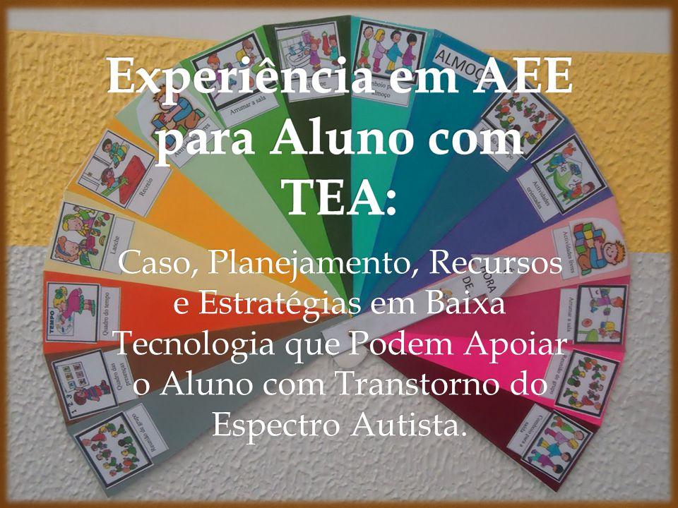 Experiência em AEE para Aluno com TEA: