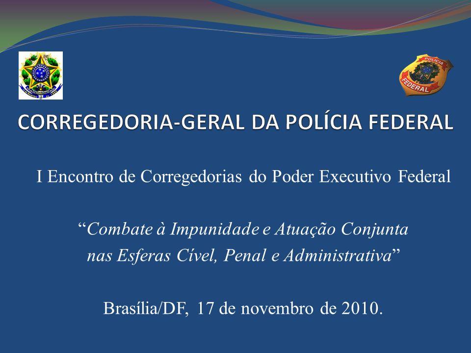 CORREGEDORIA-GERAL DA POLÍCIA FEDERAL