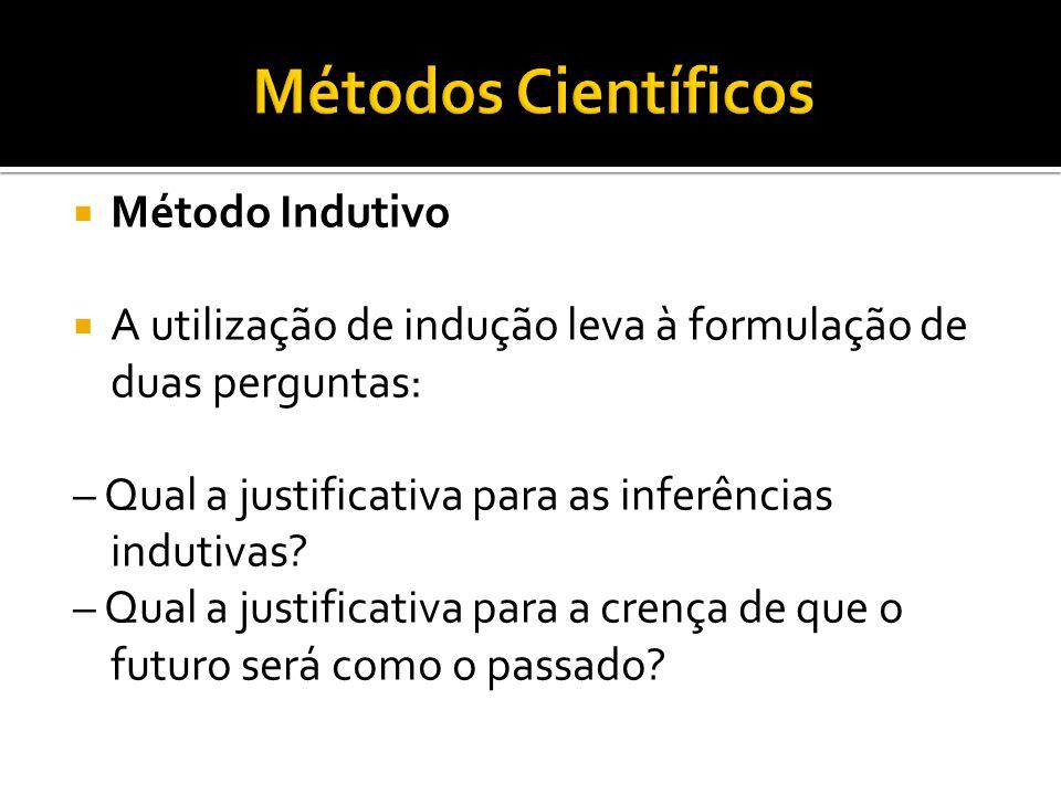 Métodos Científicos Método Indutivo