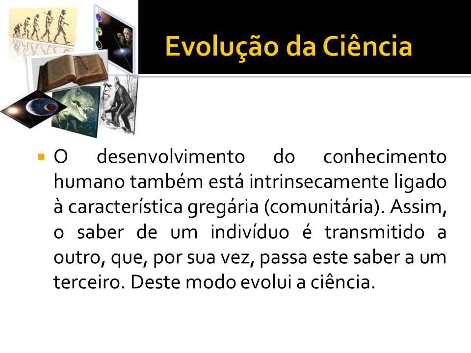 Evolução da Ciência
