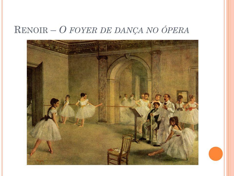 Renoir – O foyer de dança no ópera