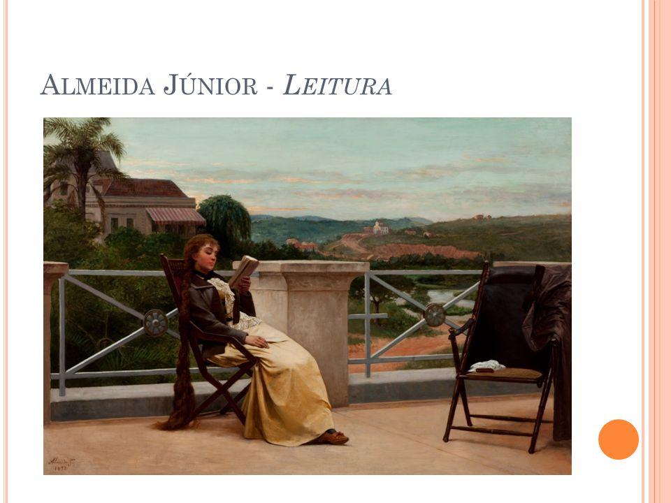 Almeida Júnior - Leitura