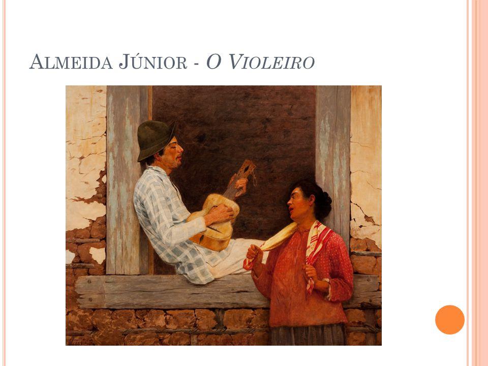 Almeida Júnior - O Violeiro
