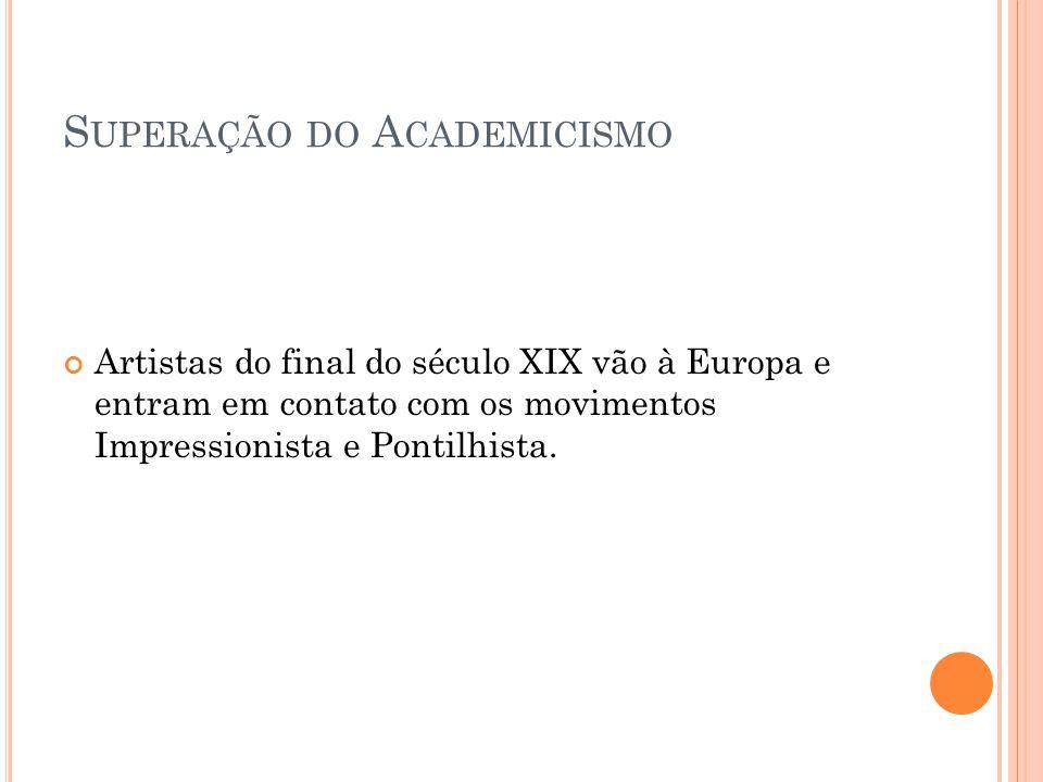 Superação do Academicismo