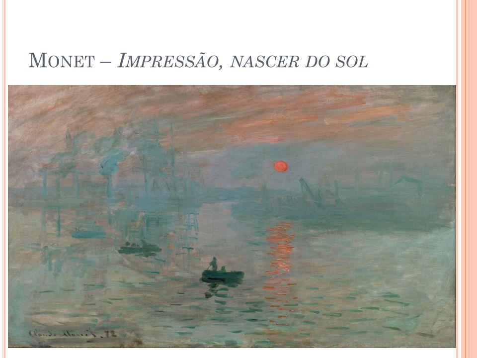 Monet – Impressão, nascer do sol