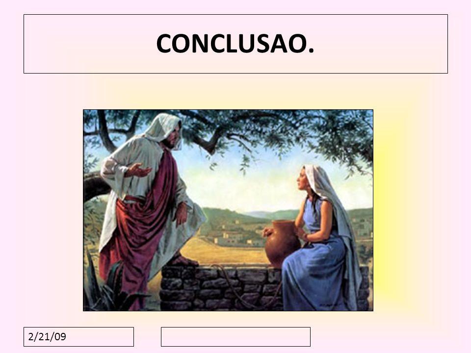 CONCLUSAO. 2/21/09