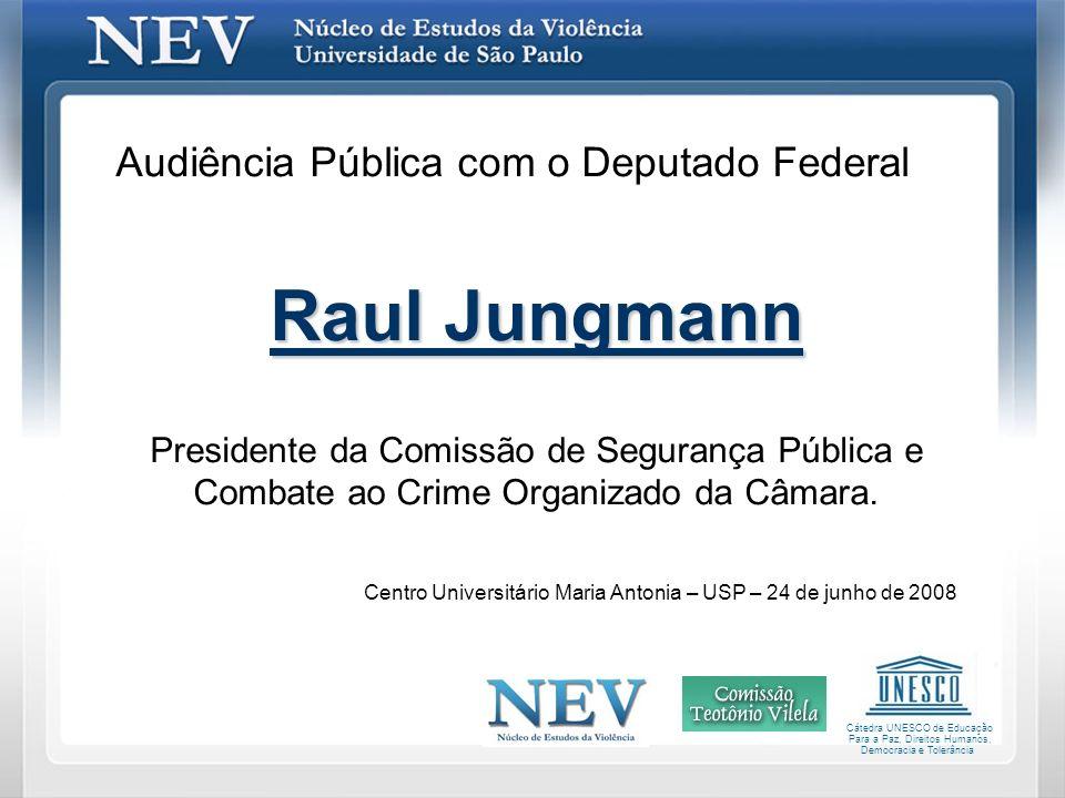 Raul Jungmann Audiência Pública com o Deputado Federal