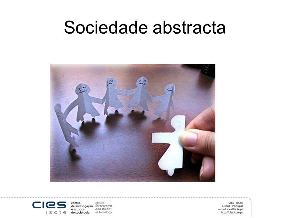 Sociedade abstracta