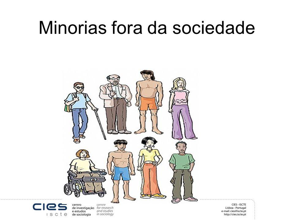 Minorias fora da sociedade